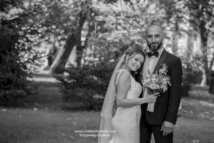 Сватбена фотография Николета и Йордан